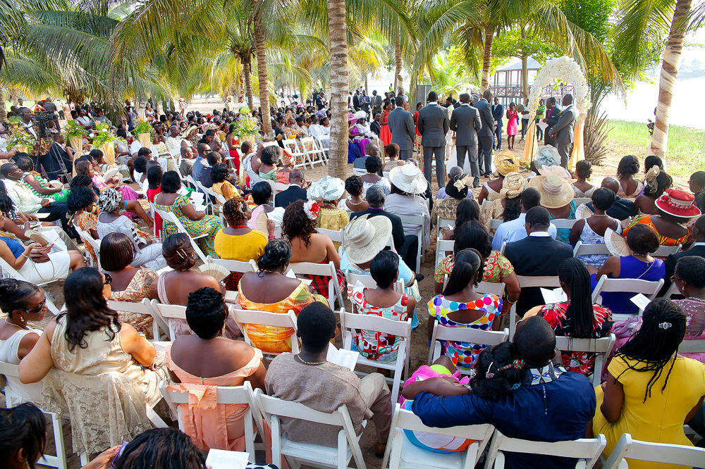 photoblog image Outdoor Weddings in Ghana, Ada Foah, Aziza Island.